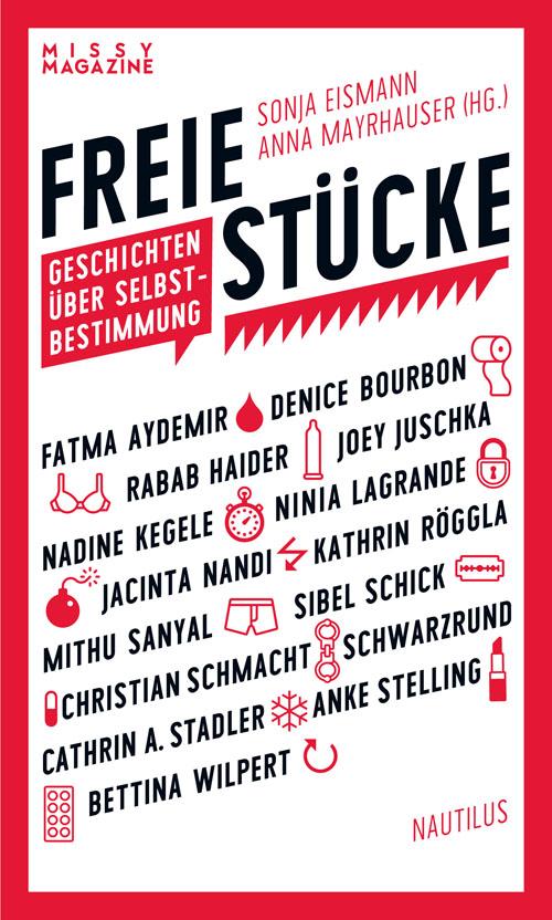 """Bild: Buchcover """"Freie Stücke"""" mit der Weltverbesserungsgeschichte """"Option C"""" darin"""