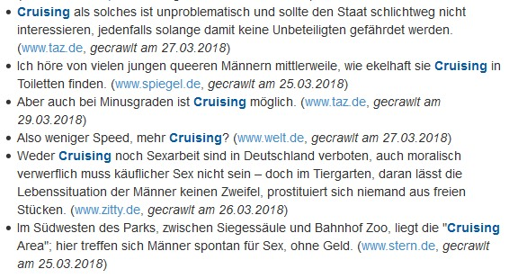 Cruising Definition