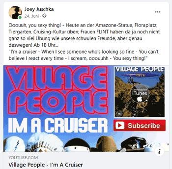 I'm A Cruiser Song von Village People