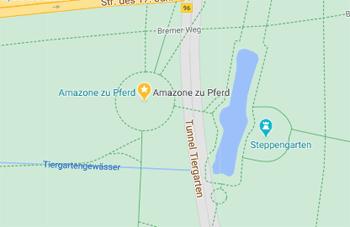 Wegbeschreibung Amazone